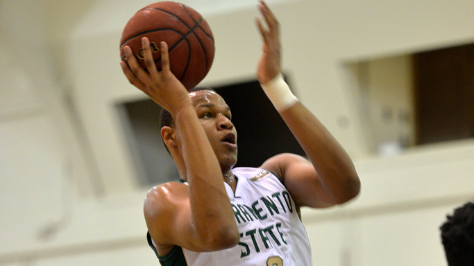 MEN'S HOOPS HELD TO SEASON LOW IN POINTS IN 63-50 LOSS AT WEBER STATE