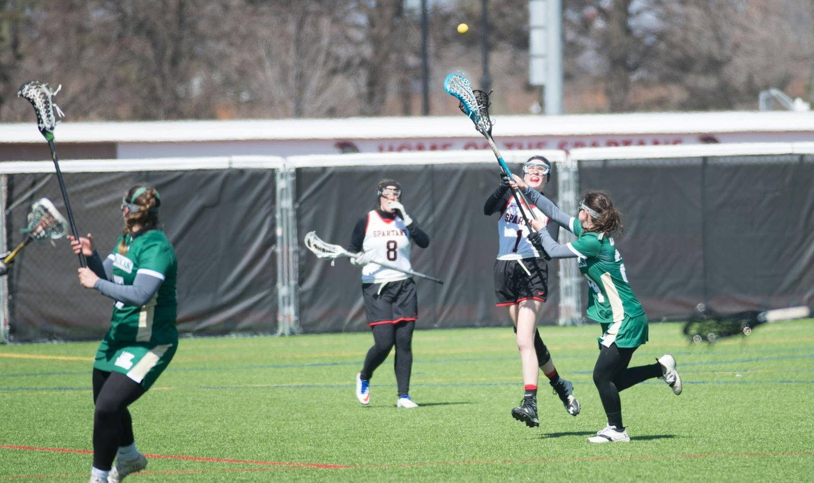 Women's Lacrosse Opens Up Conference Play against WIldcats