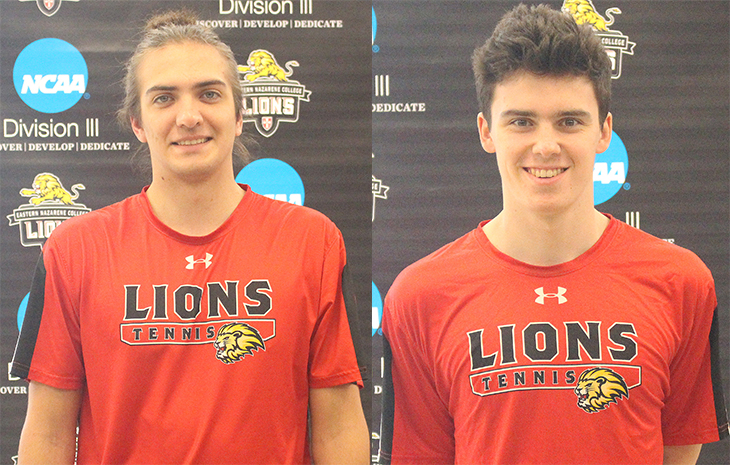 Alex Partyka Named CCC Men's Tennis Player of the Week, Julius Opaschowski Tabbed Rookie of the Week