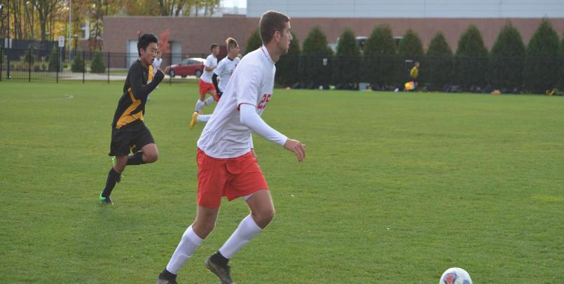 Matt Wilson notched his GLIAC-leading seventh goal of the season in the win at Walsh...
