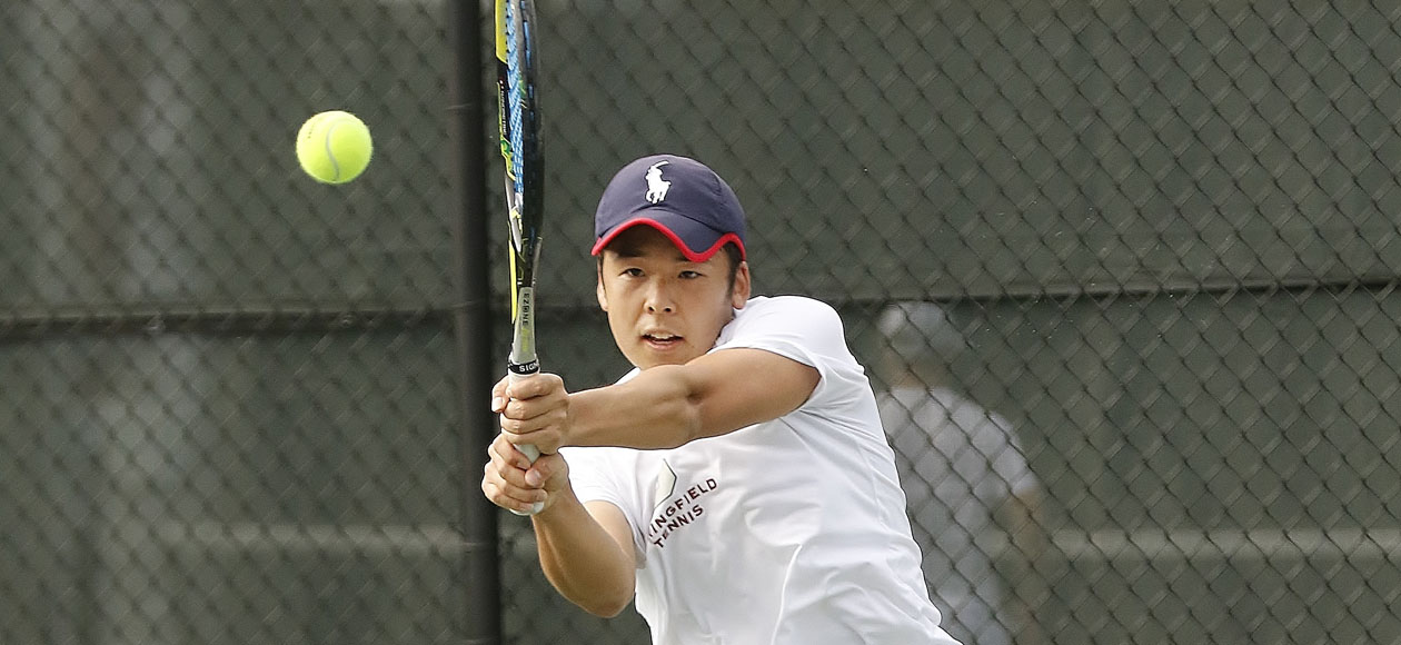 Team Effort Lifts Men's Tennis Past Norwich, 8-1
