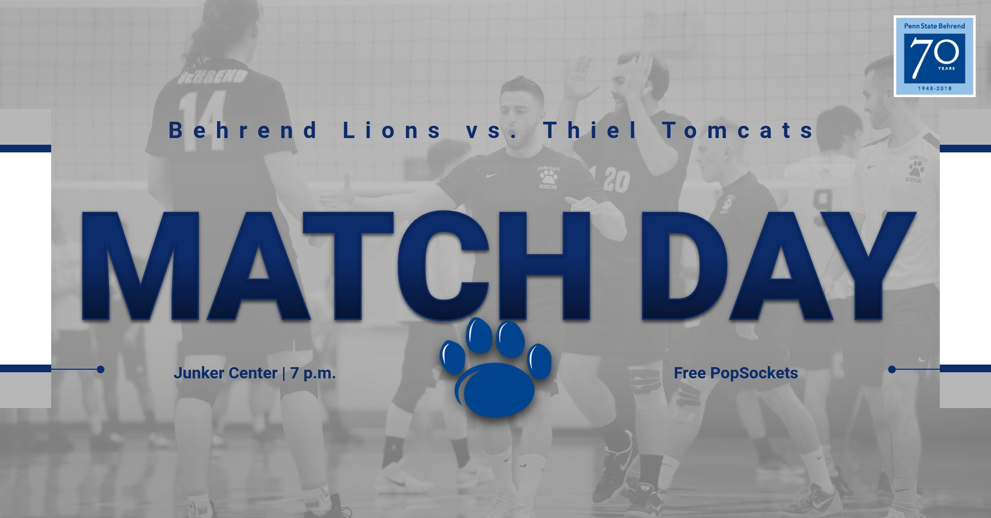 Men's Volleyball Hosts Thiel Tonight