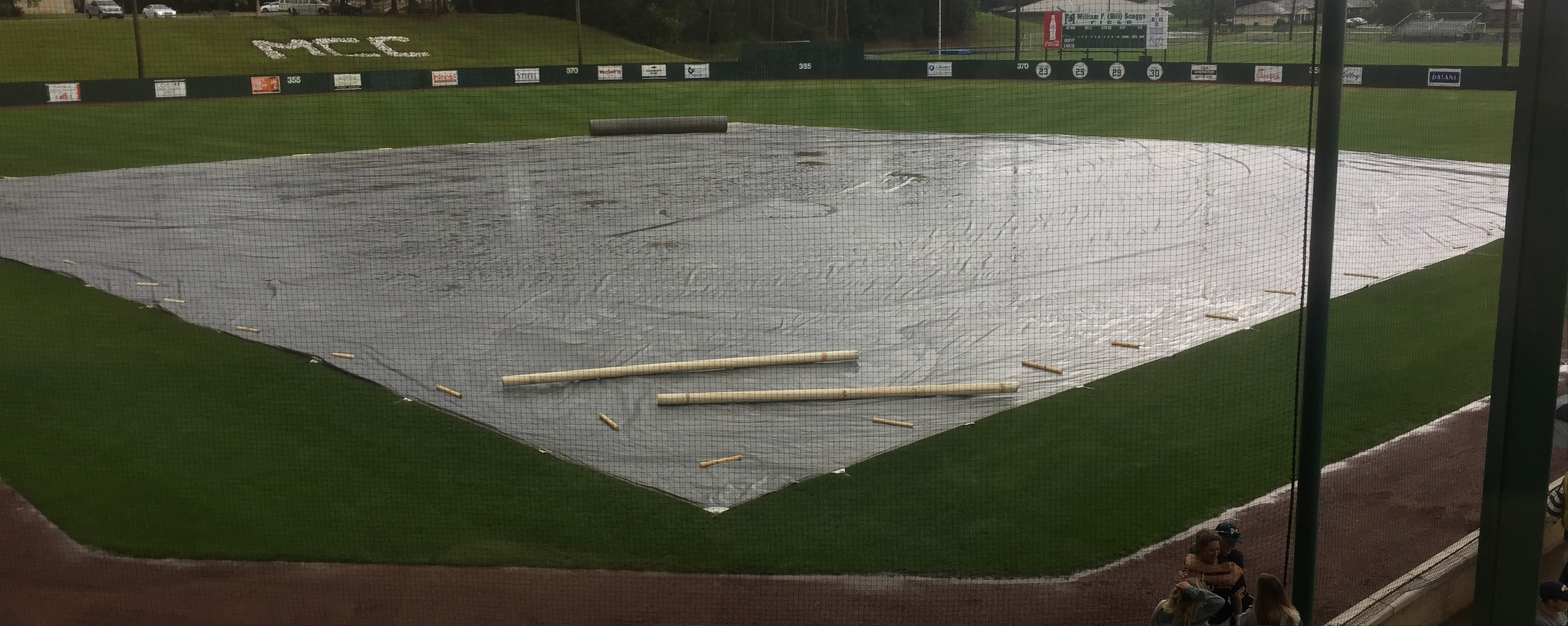 Baseball postponed until Sunday