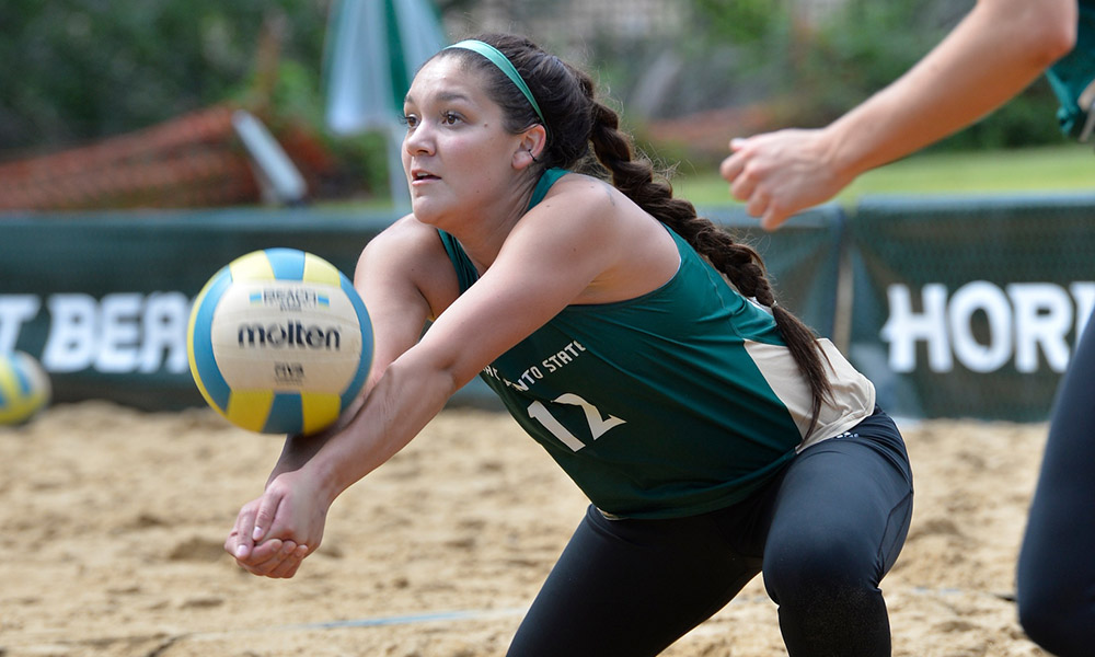 BEACH VOLLEYBALL FALLS TO OREGON AND WASHINGTON