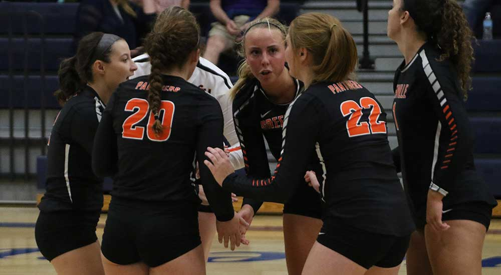 Women's volleyball tightens conference standings with win over Webster