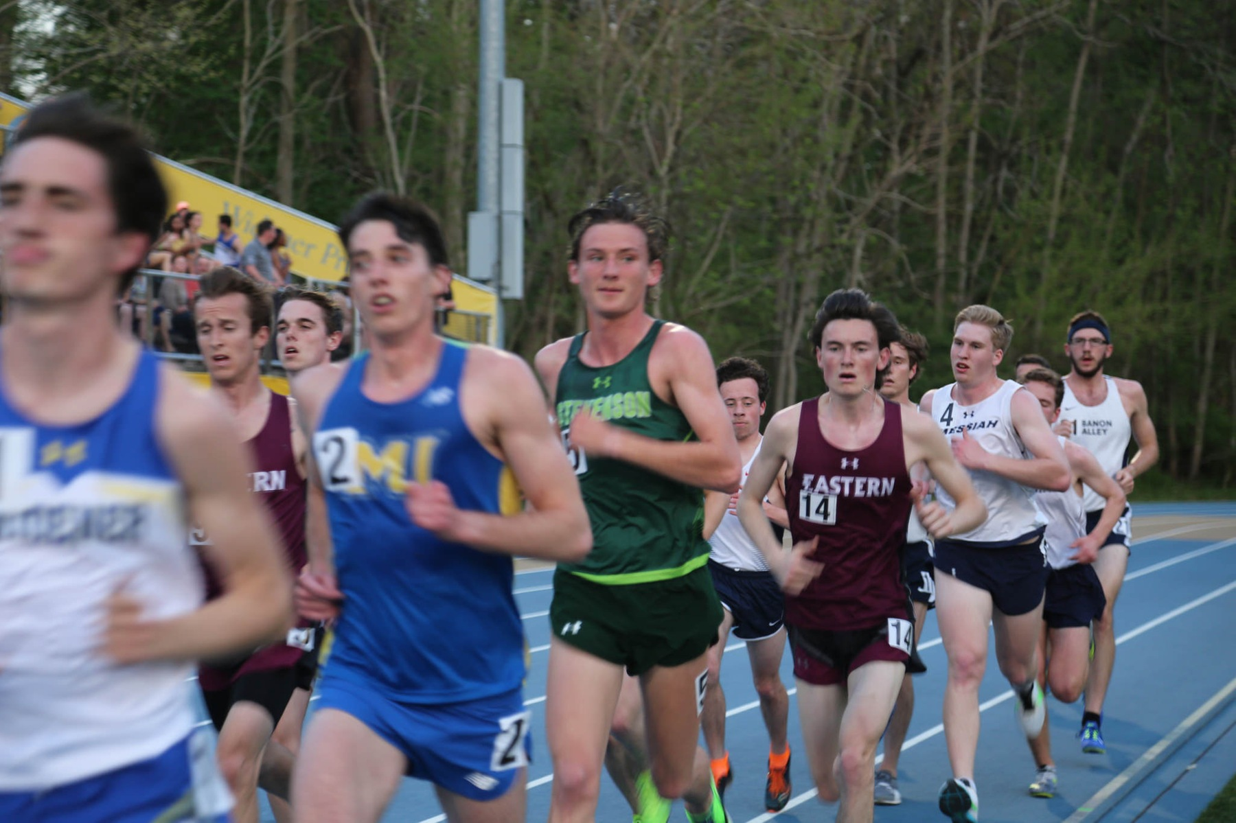 Watson Wins Steeplechase on Day One of ECAC's