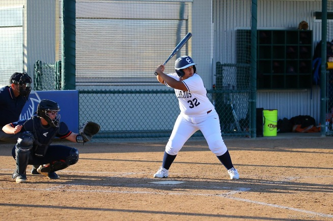 File Photo: Kayla Hernandez drove in the team's only run with a bases loaded walk