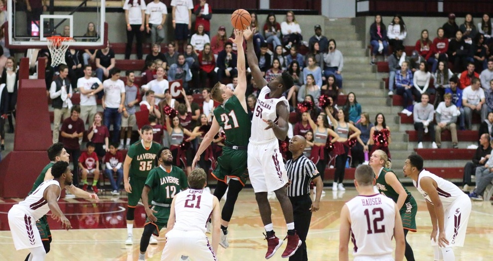 Men's Basketball Tips Off Regular Season With 120-70 Win Over La Verne