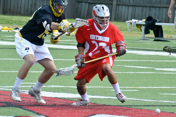 Huntingdon men's lacrosse loses to Southwestern