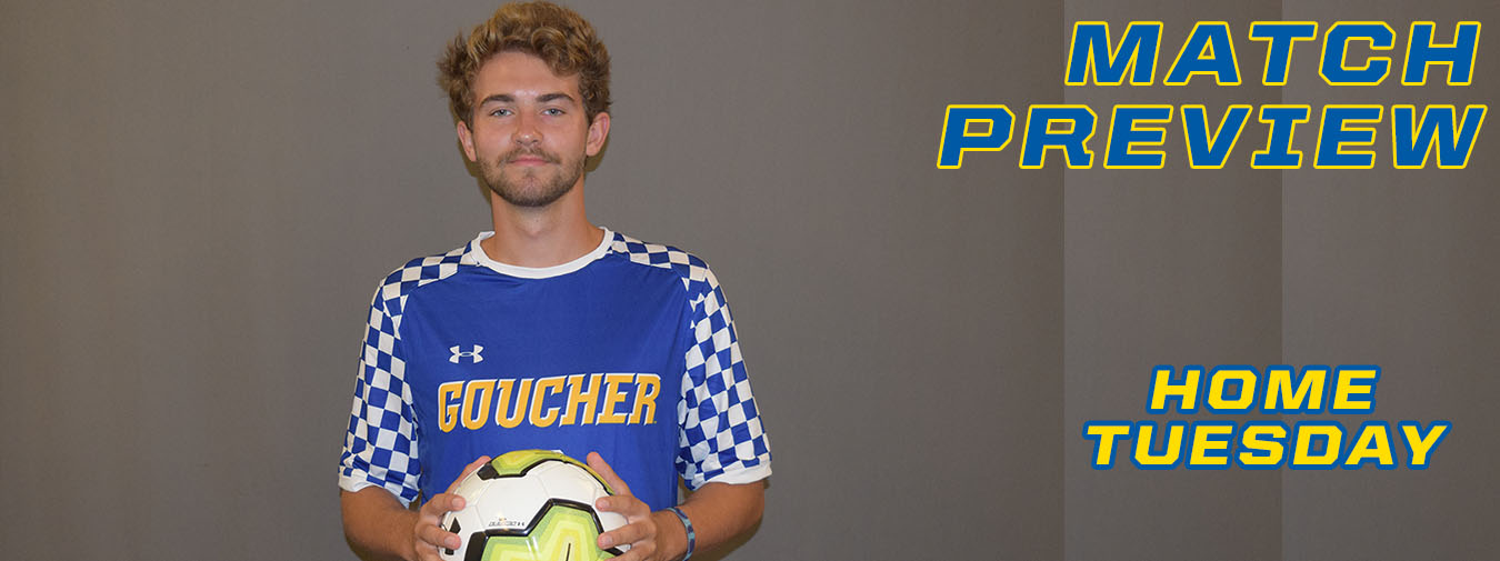 Goucher Men's Soccer Welcomes McDaniel To Beldon Field On Tuesday Afternoon