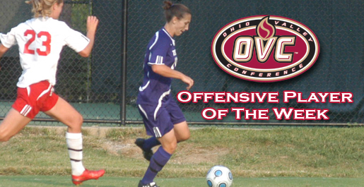 Hoffman earns OVC Offensive Player of the Week honors