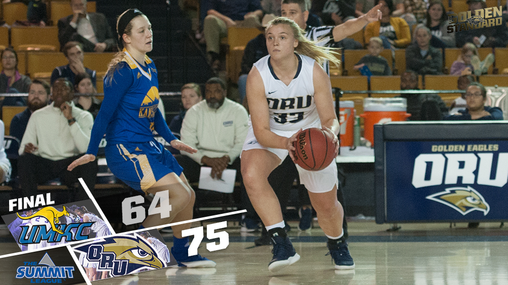 Lippe Records Career High in 75-64 Win over UMKC