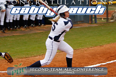 Buck named All-Peach Belt for second straight year