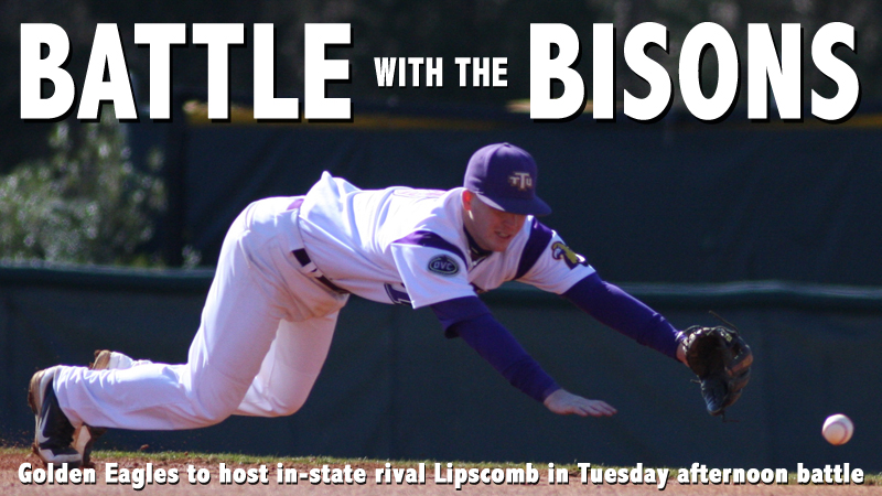 Golden Eagles to play host to in-state rival Lipscomb