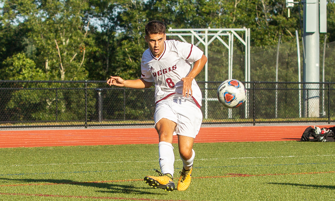 Regis Men's Soccer Draws with Lasell, 1-1