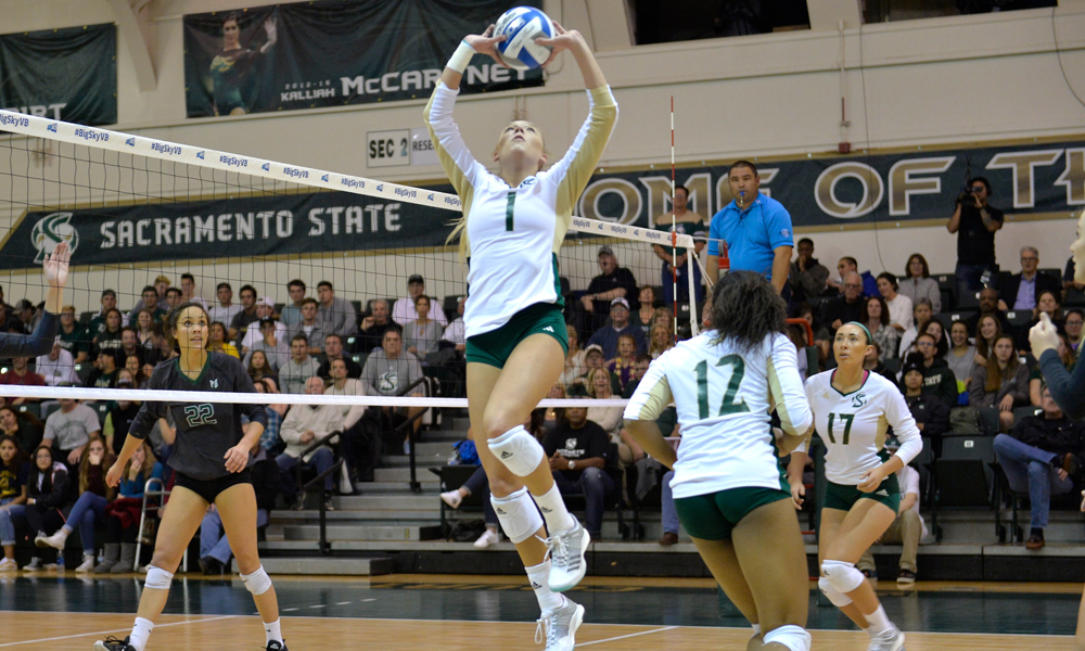 VOLLEYBALL OPENS NIVC PLAY TODAY VS UC IRVINE AT 4:30 PM