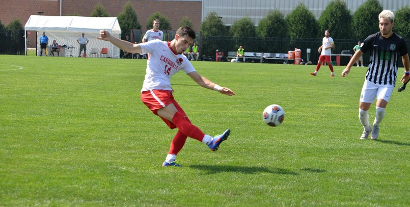 Trio of second half goals lead Cardinals to 4-1 win at Davenport