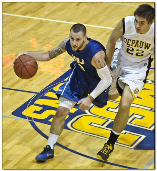 Mount men's basketball team held off down the stretch at Franklin College, 53-51
