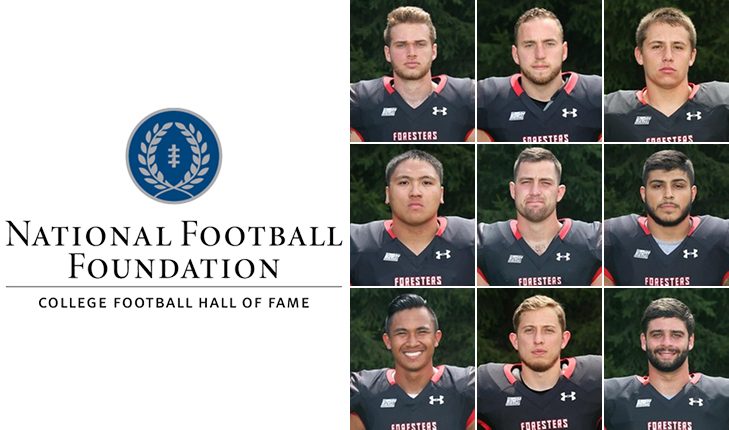 Nine Foresters in 2018 NFF Hampshire Honor Society