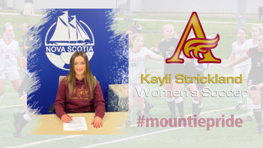 Kayli Strickland joins Mounties women's soccer family