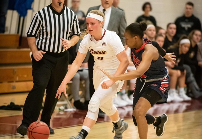 Women's Basketball: Cadets fall to Pioneers, 73-54