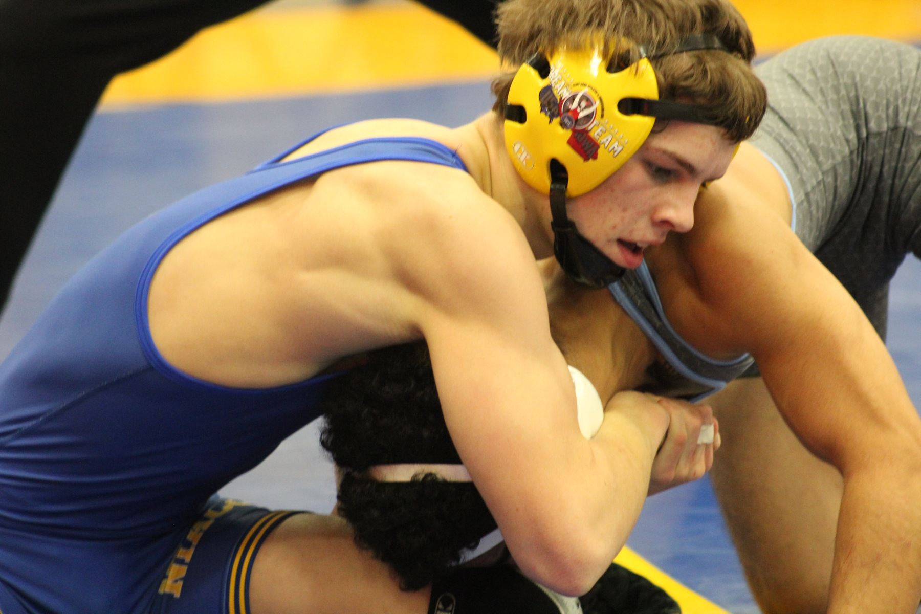 NIACC's Brennen Doebel enters Sunday's district tournament ranked seventh at 125 pounds.
