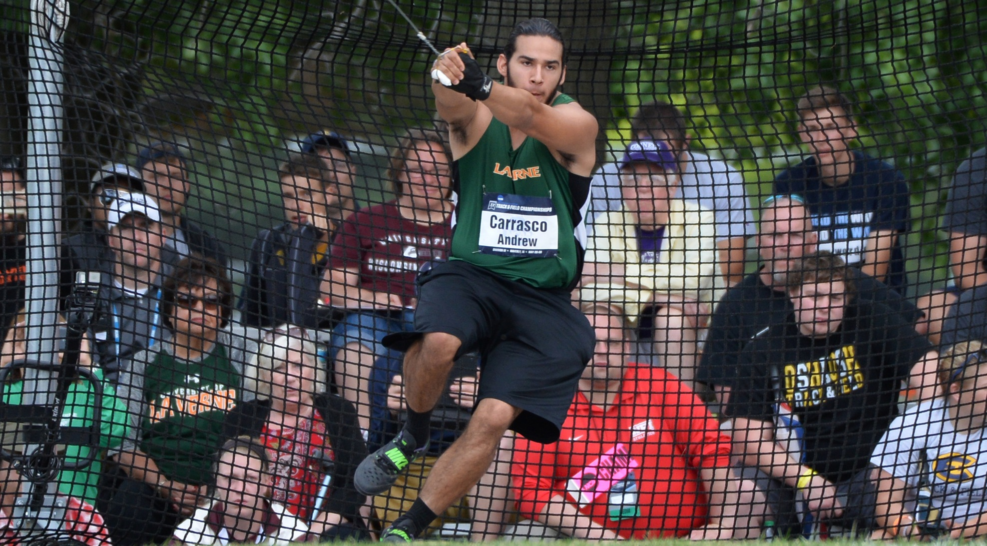 Carrasco wins Hammer at Rossi Relays