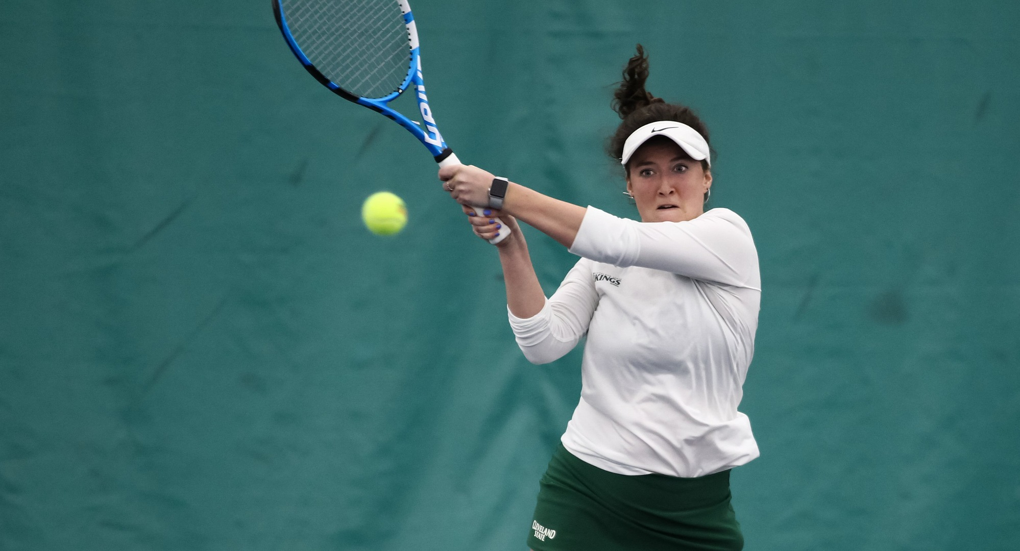 Women's Tennis Improves To 4-0 In #HLWTEN Play With 6-1 Win Over Oakland