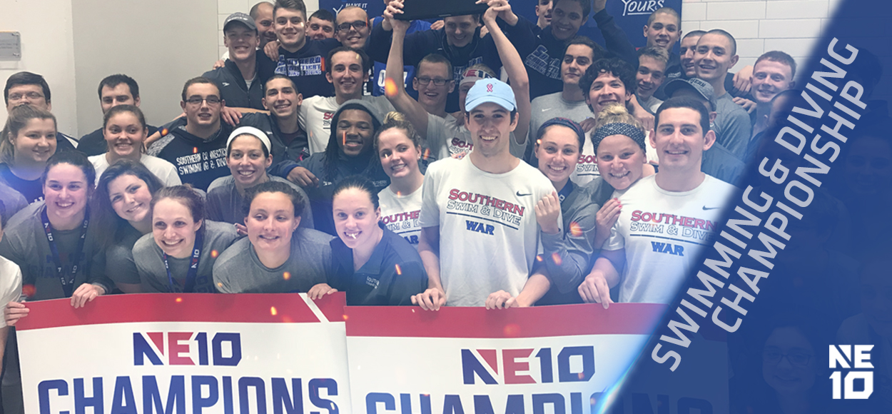 Embrace The Championship: Southern Connecticut Men and Women Sweep NE10 Swimming and Diving Championship Titles