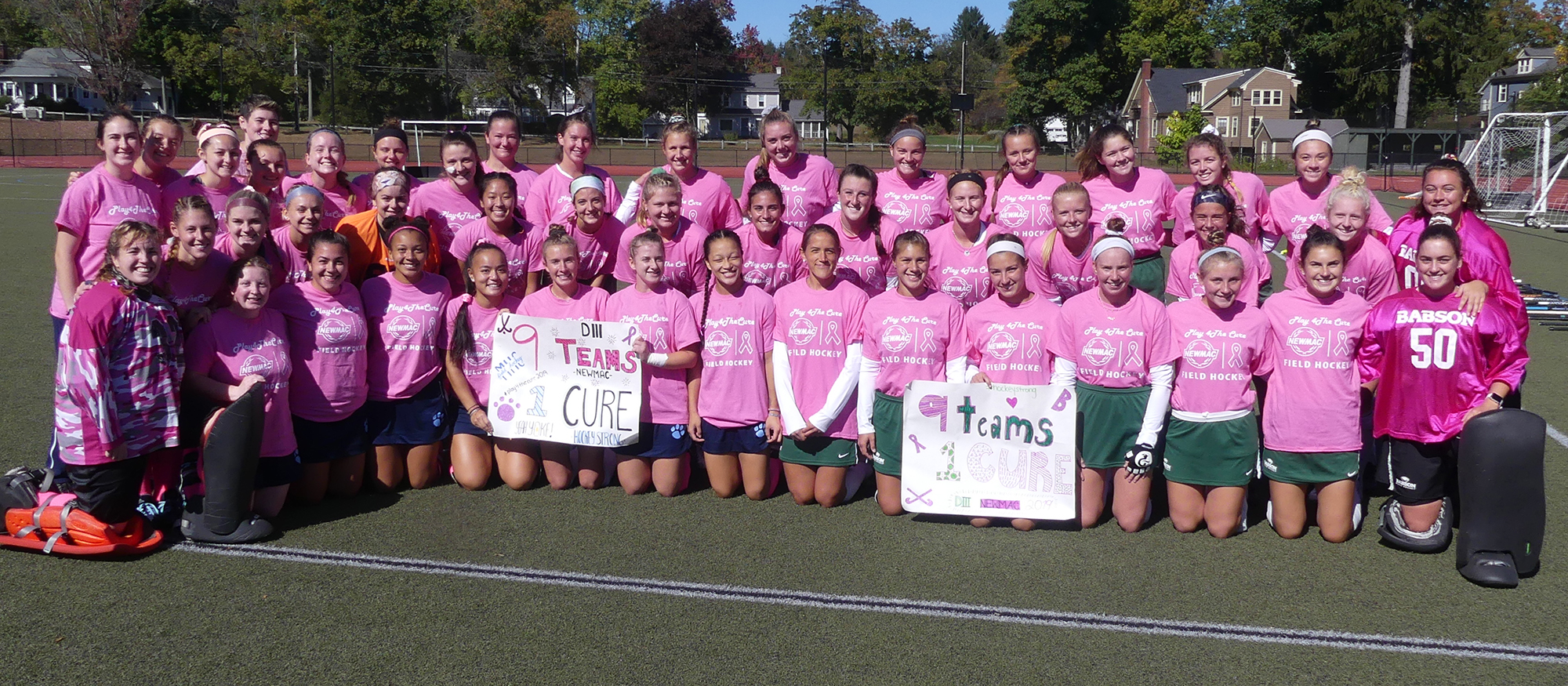 Field Hockey Suffers Setback to Nationally-Ranked Babson in NEWMAC Play