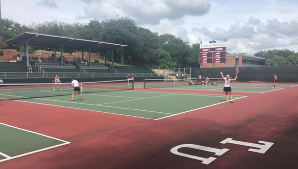 Women's Tennis Performs Well at ITA Southwest Regionals