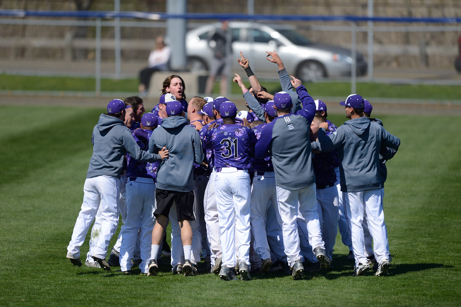 Never Say Die Purple Knights Move On To ECC Baseball Championship Round With 14-12 Win Over Molloy