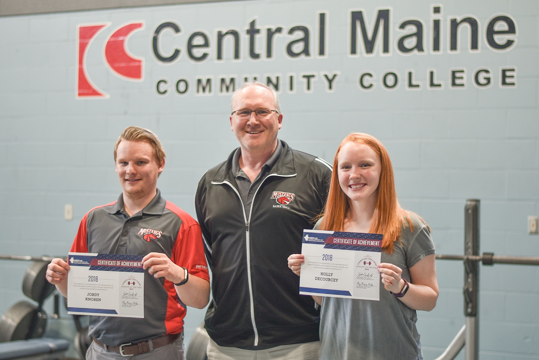 NSCA recognizes two CMCC student-athletes