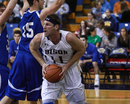 Bison win home opener in convincing fashion