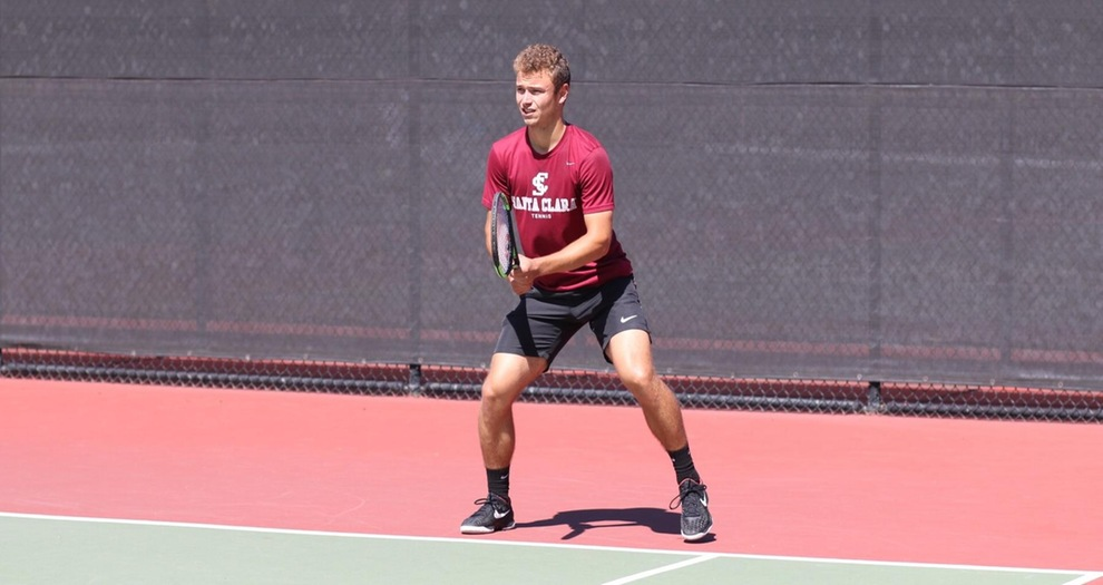 Men's Tennis Sweeps Portland, 4-0 on Friday