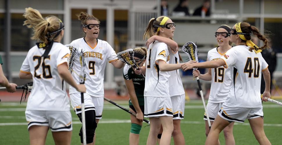 UMBC Women's Lacrosse Storms Past UMass Lowell on Senior Day, 19-2
