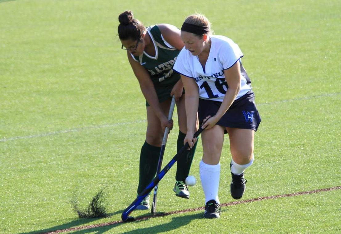 Lasell Muscles Past Field Hockey