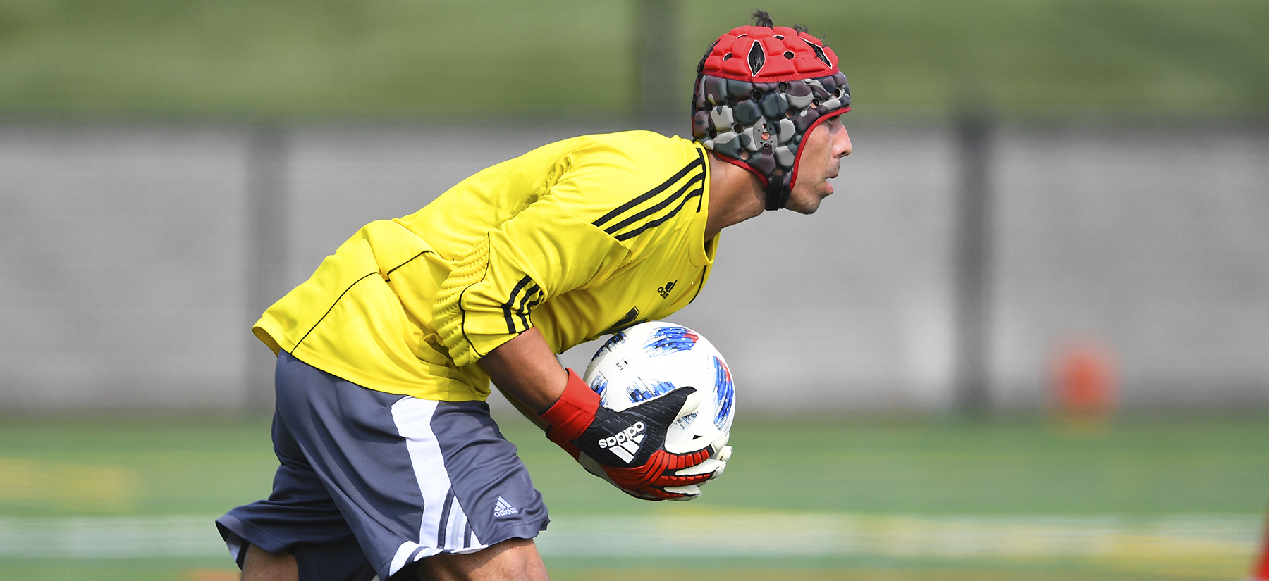 Strain Tallies Six Saves in Men's Soccer 0-0 Tie With LIU