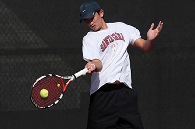 No. 49 Bronco Men's Tennis Continue Road Swing in Vegas