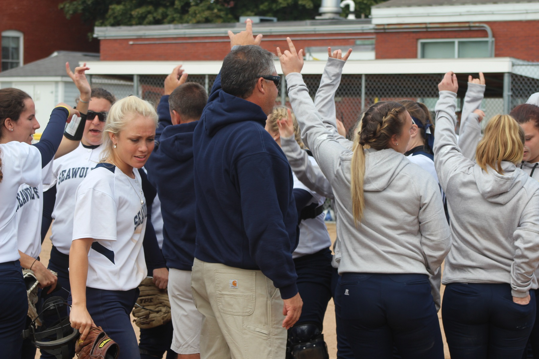 Lady SeaWolves Go Toe-To-Toe With USCAA-Power NHTI