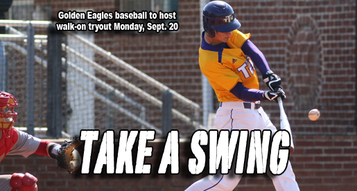 Golden Eagle baseball team to hold walk-on tryouts Sept. 20