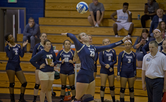 Volleyball Wraps Up Play at RIT Tournament
