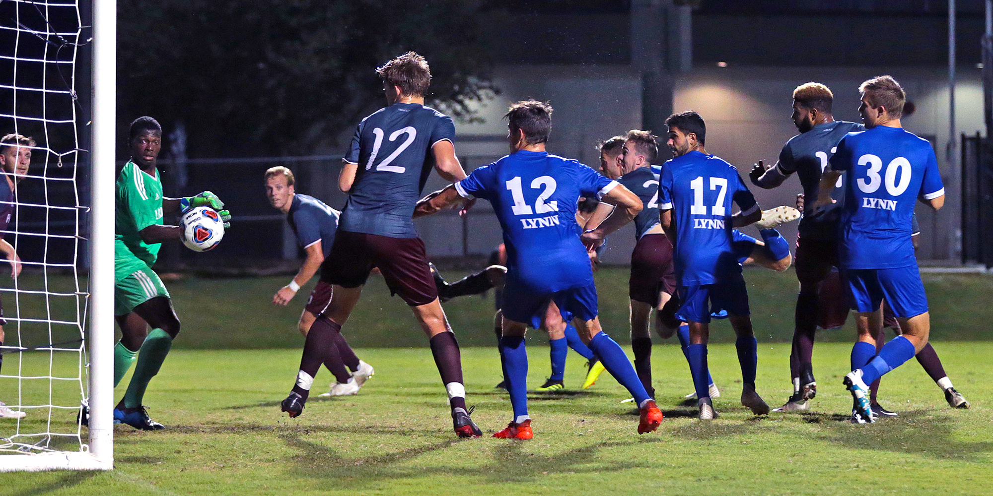 Hombach's Late Goal Seals Victory for Men's Soccer