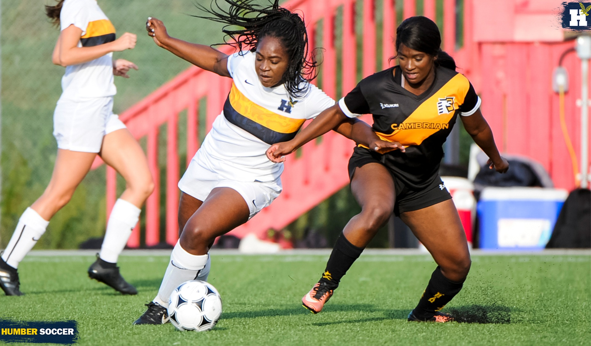 BIG SECOND HALF LIFTS No. 7 WOMEN'S SOCCER OVER CAMBRIAN, 5-0