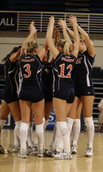 Aggies and Tigers on Tap for Volleyball This Weekend
