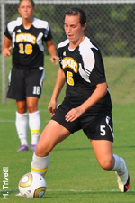 Freshman Jessy Brown has started all eight games for the Retrievers this season.