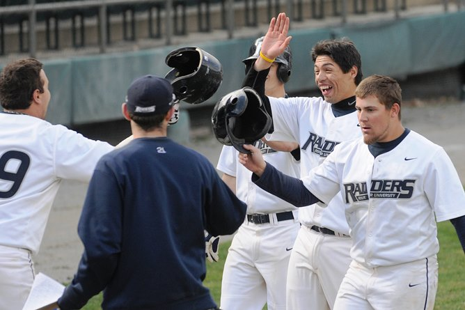 Velez powers Raiders to GNAC Double-Header split with Albertus Magnus