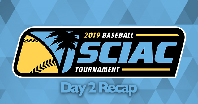 SCIAC Baseball Postseason Tournament - Day 2 Recap
