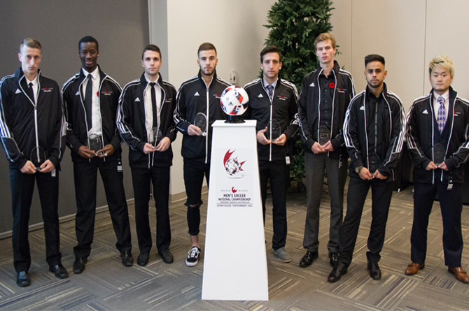 2016 CCAA Men's Soccer All-Canadians