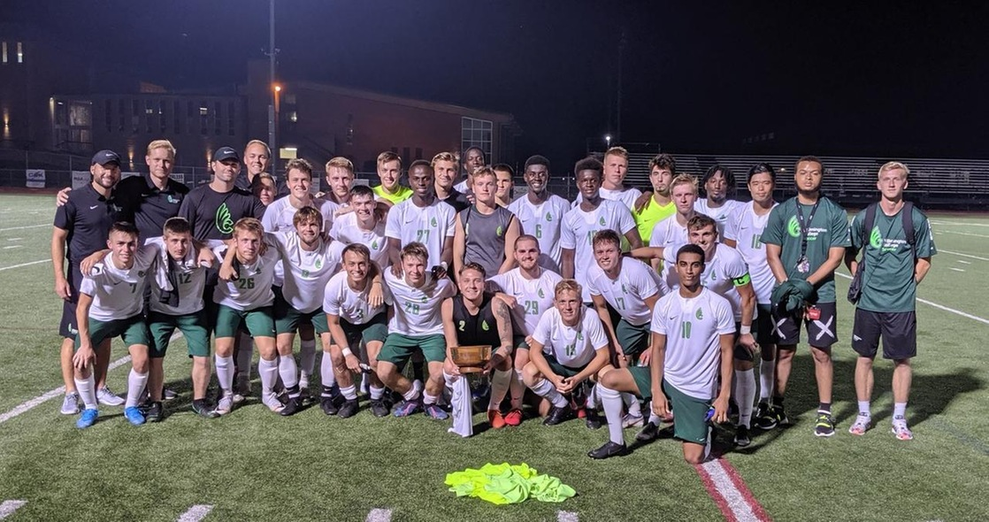 Men's Soccer Wins Quaker Bowl Rivalry Game 5-0